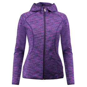 Meru W's Sitia Stretch Fleece Jacket Lilac Multicolour